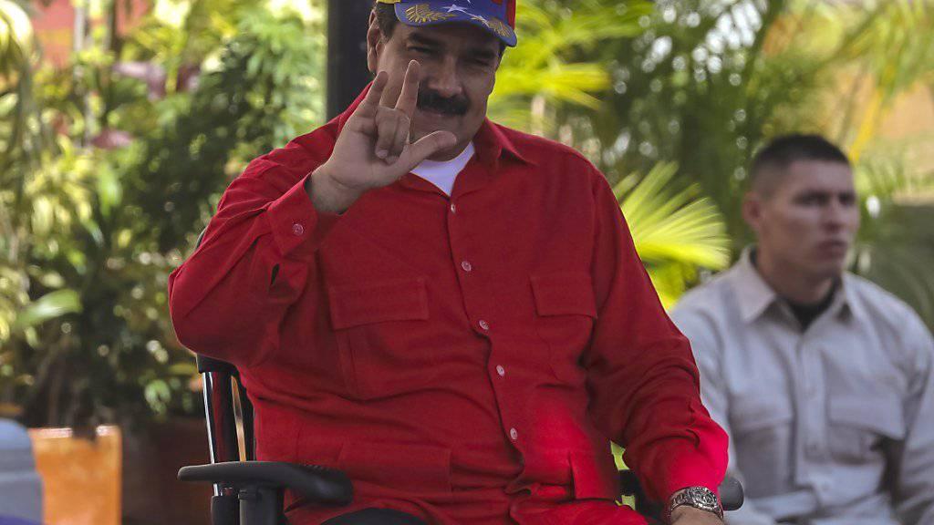 Fürchtet um sein Leben: Venezuelas Präsident Nicolás Maduro. (Archivbild)