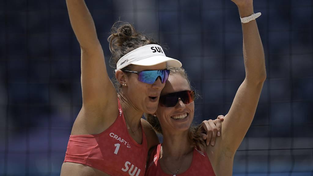 Betschart/Hüberli krönen sich zu Europameisterinnen