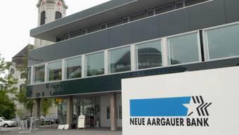 Der Hauptsitz der Neuen Aargauer Bank in Brugg.