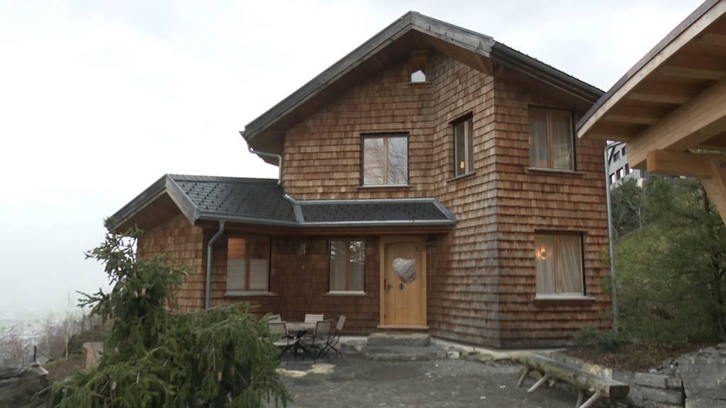 Kompostierbares Haus in Seelisberg