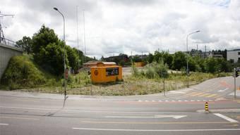 Das Kofmehl-Areal wartet immer noch auf das neue Coop-Center. (Foto: Wolfgang Wagmann)