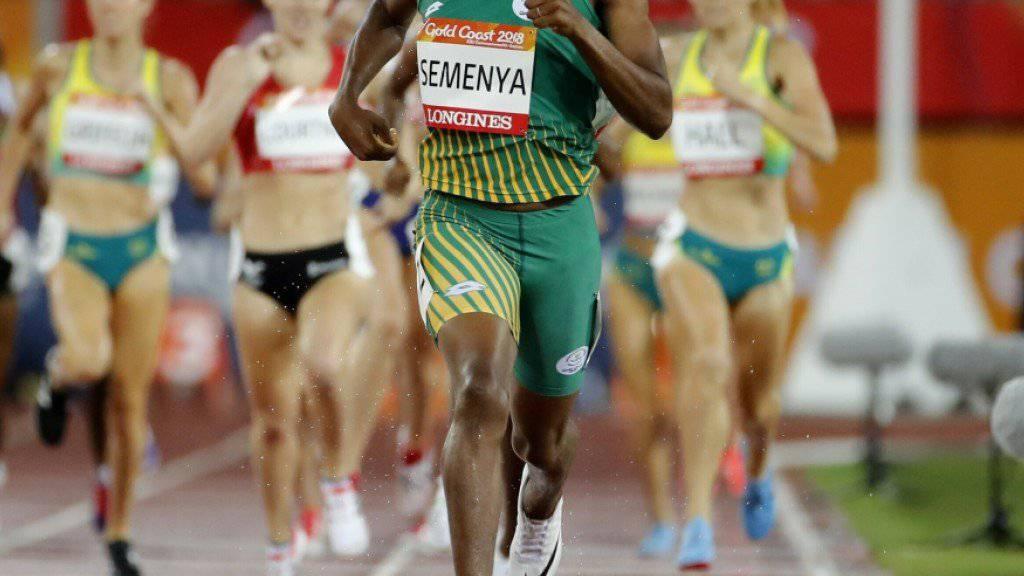 Caster Semenya könnte gegen das CAS-Urteil Berufung einlegen