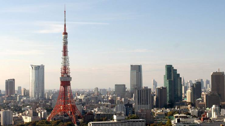 Tokyo Tower - der japanische Eiffelturm