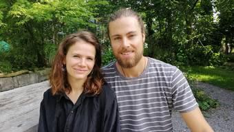 Thurgauer Gäste: Larissa Streule und Simon Müller.