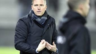 Trainer Marc Schneider will den FC Thun in die Halbfinals führen