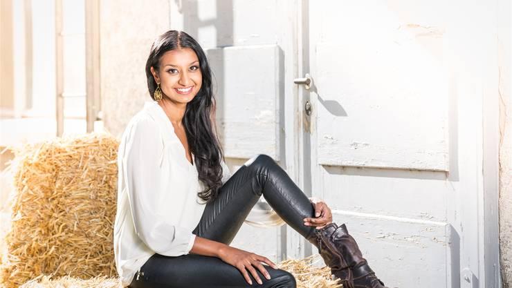 Mit dem Song «Ooops!?!» will Sunanda Heuberger diesen Sonntag den Experten-Check überstehen – die zweitletzte Hürde auf dem Weg zum Eurovision-Final.Matthias Willi