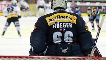 Sieg für die Flyers mit Goalie Rüeger in seinem 1000. NLA-Spiel