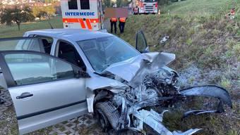 Unfall in Zufikon im September 2020