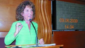 Barbara Egger: Die seit Juni 2002 als Baudirektorin tätige reagierte heftig auf die vermeintlichen Angriffe.