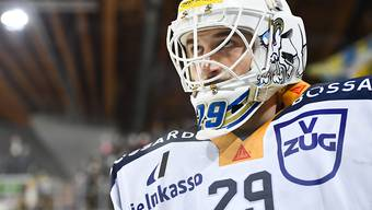 Sandro Aeschlimann, nächste Saison Goalie des HC Davos, wurde beim 5:1-Sieg des EV Zug in Davos mit 20 Paraden als bester Spieler der Innerschweizer ausgezeichnet.