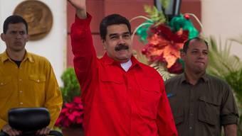 Venezuelas Staatspräsident Nicolás Maduro will 2018 für eine zweite Amtszeit antreten. (Archivbild)