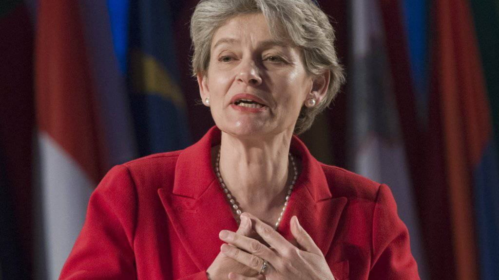 Irina Bokowa ist offizielle Bewerberin für das Amt als UNO-Generalsekretärin. Die Bulgarin führt seit 2009 die UNESCO. (Archivbild)