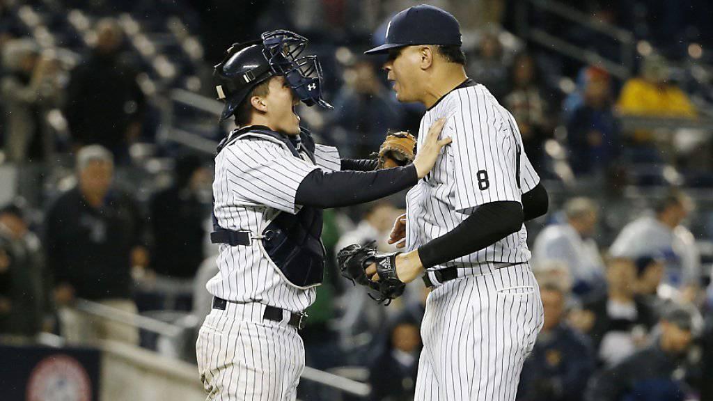Yankees freuen sich über Wildcard für die Playoffs