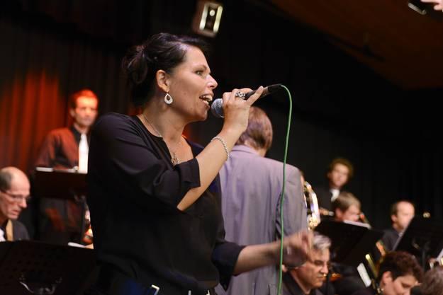 Sängerin Sylvie Widmer überzeugte mit ihrer Stimme.