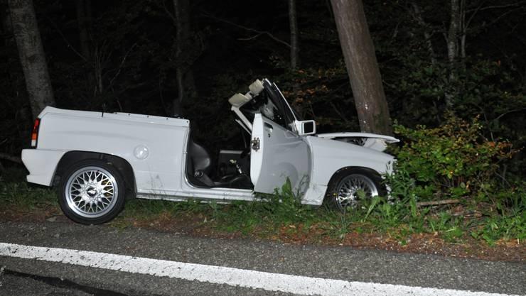 Das Auto war nicht eingelöst und musste abtransportiert werden.