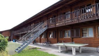 Der Weg zur Asylunterkunft Atlas und zur nahen Zivilschutzanlage im Allschwiler Bachgraben-Gebiet ist kompliziert. (Archiv)