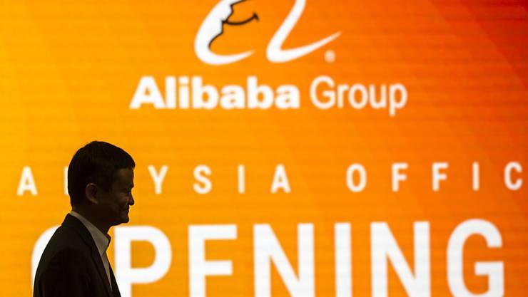 Das abgeschwächte Wachstum von Alibaba dürfte Sorgen von Investoren verstärken: Die Umsatzzahlen des chinesischen E-Commerce-Giganten werden häufig als Messlatte für die Konsumausgaben in der zweitgrössten Volkswirtschaft gesehen. (Archivbild)