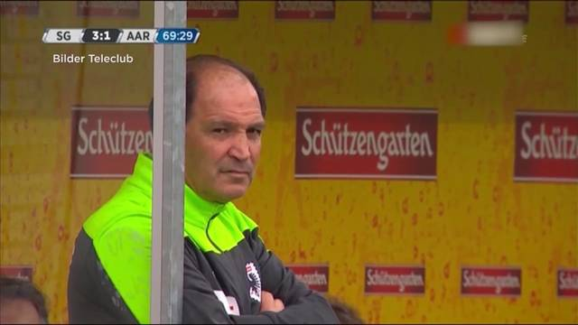 FC Aarau gibt Raimondo Ponte den Laufpass