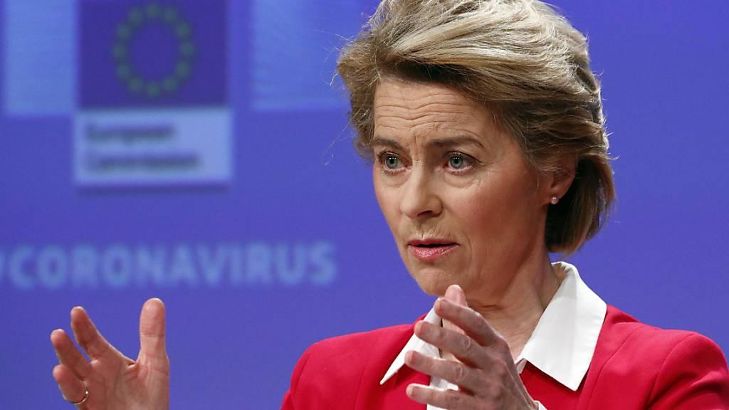 Ursula von der Leyen: «Wir brauchen einen Marshall-Plan für Europa»