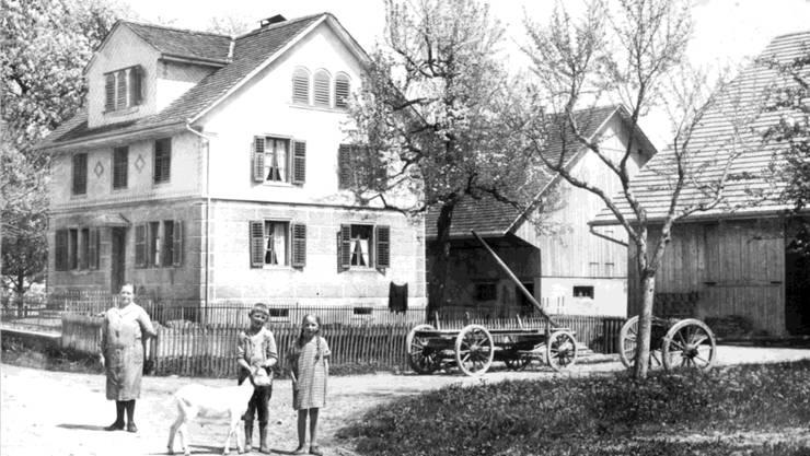Eine der vielen historischen Aufnahmen, die in der Ausstellung «Bettwil einst und heute» am Samstag zu sehen sein werden.zvg