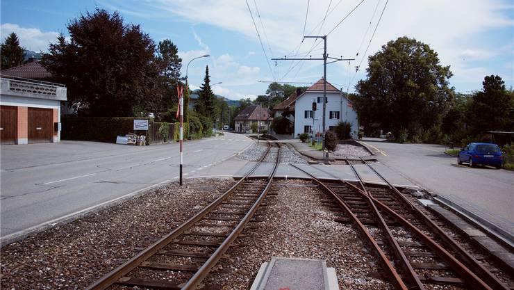 Einer der sanierungsbedürftigen Bahnübergänge beim «Bipperlisi» in Flumenthal.