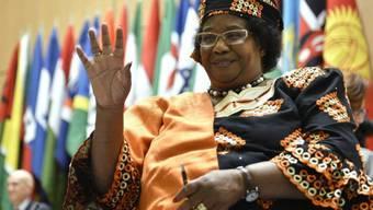 Malawis Noch-Präsidentin Joyce Banda (Archiv)