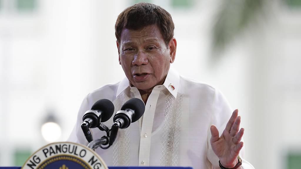 Duterte sorgt mit Botschaft an Corona-Impfverweigerer für Aufsehen