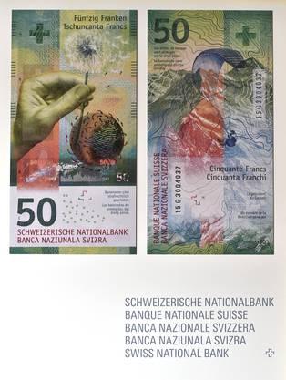 So sieht die neue 50er-Note aus