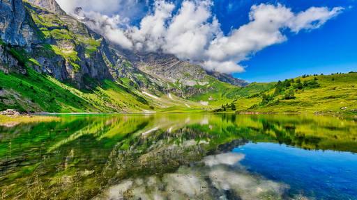 Kennst du diese Schweizer Bergseen?