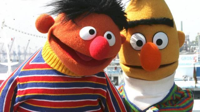 Nur gute Freunde: Ernie und Bert