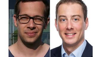 Tobi Auer und Oliver Steger werden als Co-Vizepräsidenten interimistisch die FDP Baden führen.