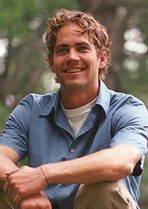 Paul Walker 2001 im New Yorker Central Park