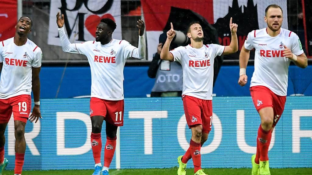 Der 1. FC Köln hatte wieder einmal Grund zum Jubeln