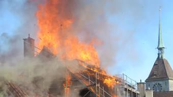 Am 3. September 2019 brannte es an der Rathausgasse.