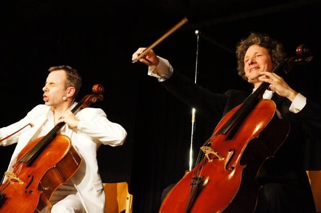 Man wechselt zwischen Bach und Mozart, Händel und Rossini
