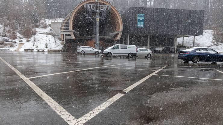 Normalerweise hat es bei der Seilbahn Weissenstein genug Parkplätze. Nur in Ausnahmefällen reichen sie nicht aus.