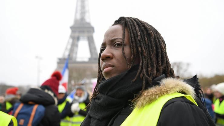 Gelbwesten-Aktivistin Priscillia Ludosky.