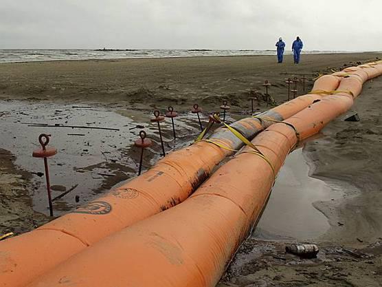 Barrieren gegen Ölpest