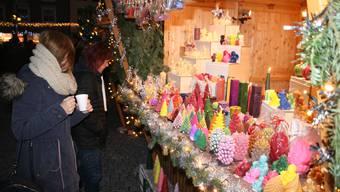 Impressionen von der grenzüberschreitenden Altstadtweihnacht in Laufenburg