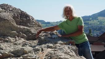 Extreme: Ben Pabst fand 2015/2016 den grössten und den kleinsten Dino. archiv