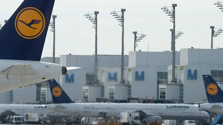 Lufthansa will Flugbetrieb trotz Streik in vollem Umfang aufrechterhalten. (Archivbild)