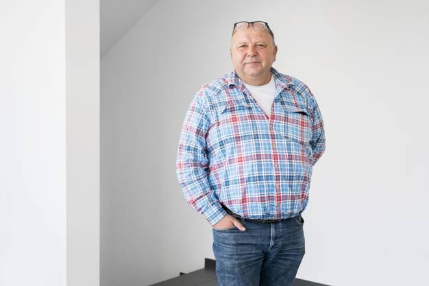 Wolfgang Burkard, Geschäftsführer der Firma Nutrivalor.