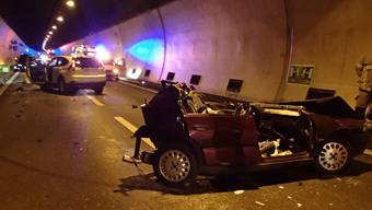 Tödlicher Unfall im Bözbergtunnel