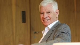 «Ich bin teilweise amtsmüde.» Willi Fischer nach 35 Jahren in der Riehener Politik.Martin Töngi