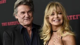 Seit 1983 sind sie ein Paar: Und bis heute kommt es Goldie Hawn und Kurt Russell nicht in den Sinn, zu heiraten (Archiv).