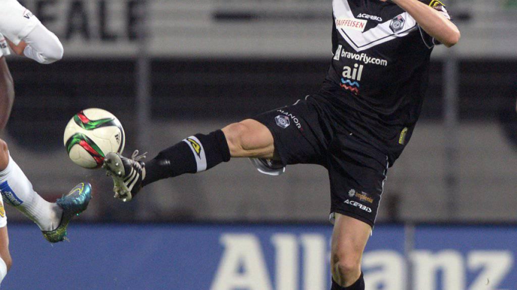 Luganos Marco Padalino im Spiel gegen die Young Boys