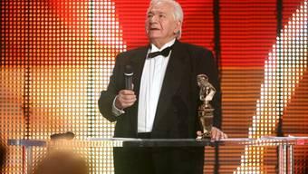 """Michel Galabru hat in zahlreichen Komödien mitgespielt. Für seine Rolle in """"Les Chaussettes - opus 124"""" erhielt er 2008 einen Molière Award (Archiv)"""