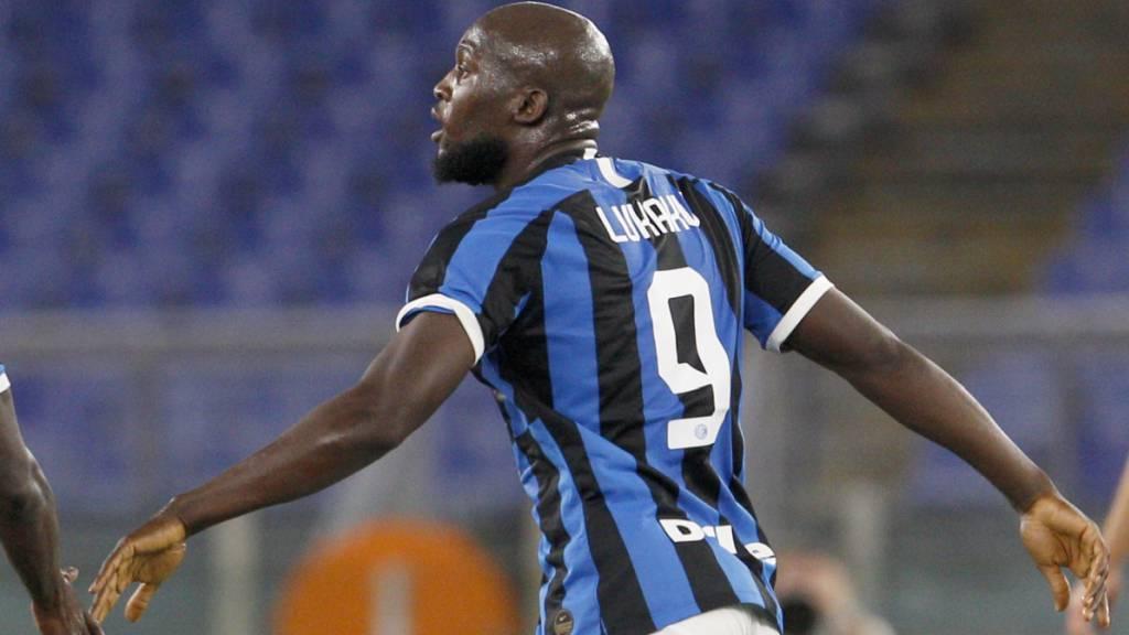 Romelu Lukaku rettete Inter mit einem Foulpenalty einen Punkt