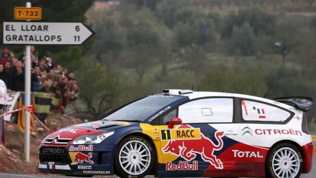 Sébastien Loeb liess die Konkurrenz auch in Katalonien hinter sich