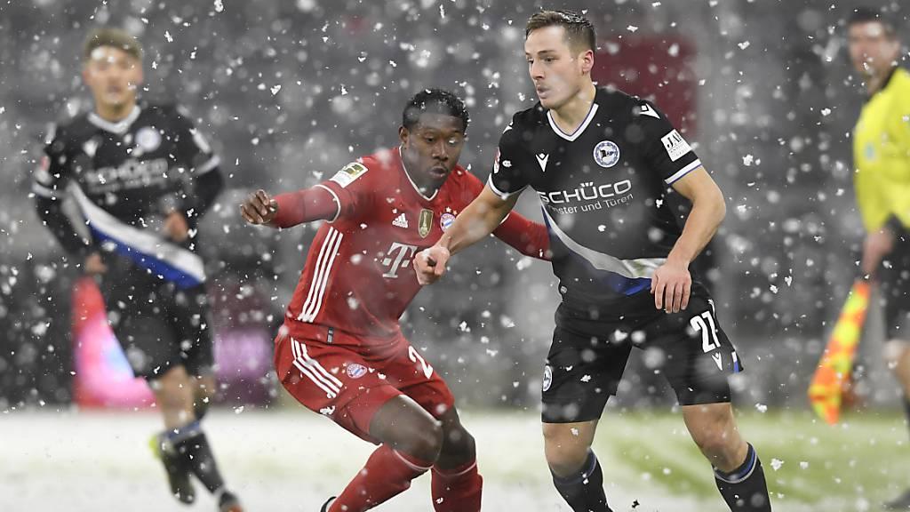 Bayern München gegen Bielefeld gar nicht weltmeisterlich